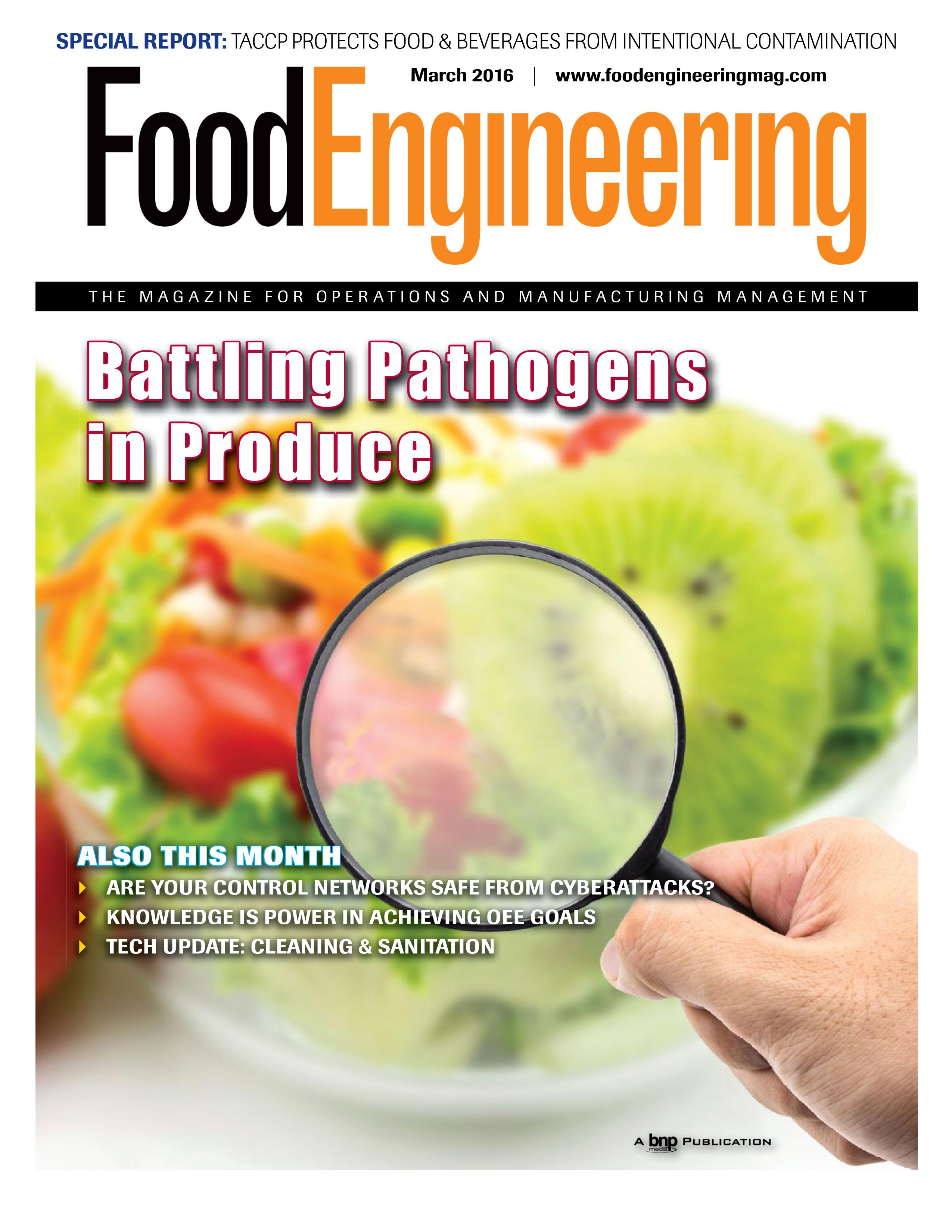 Food Engineering Benchmark study